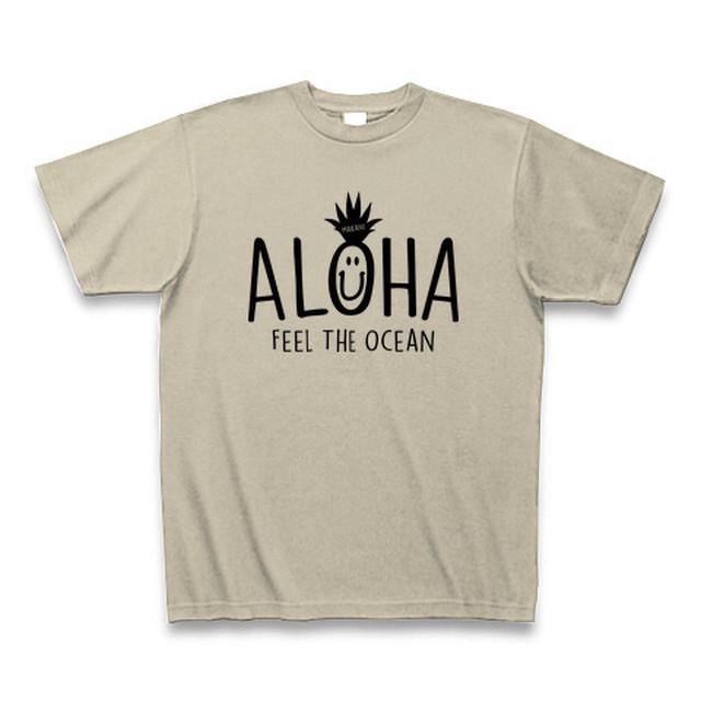 「ALOHA」プリントTシャツ